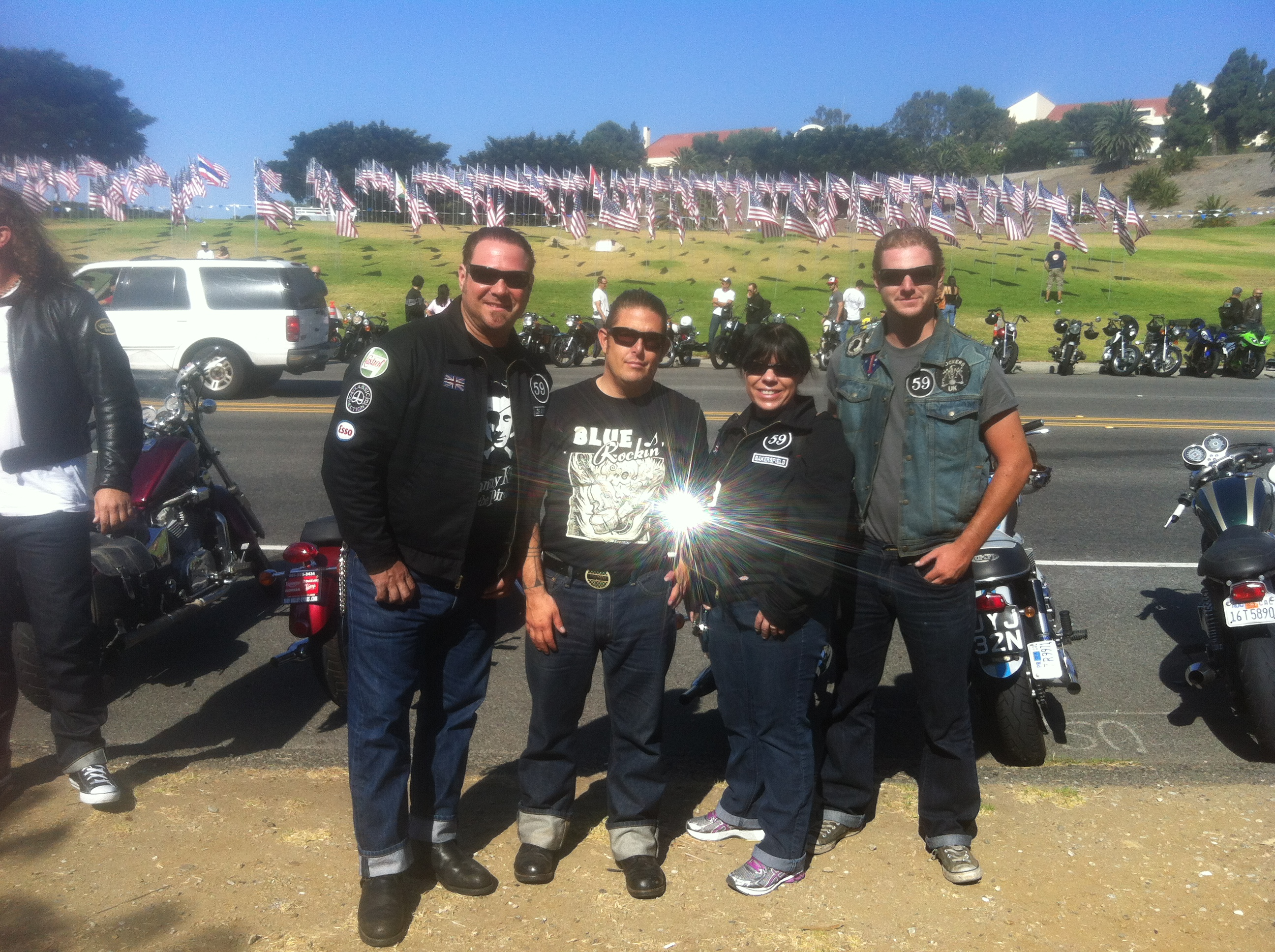Venice Vintage motorcycle event Sept. 2013