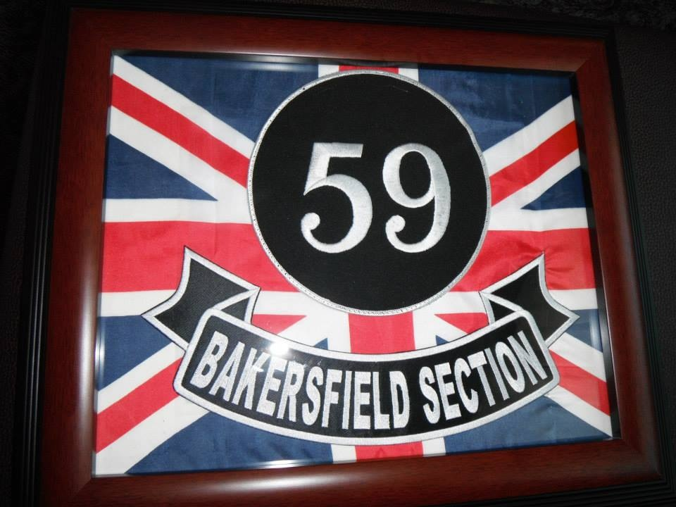 Official plaque of the Bakersfield Section Sept. 2013